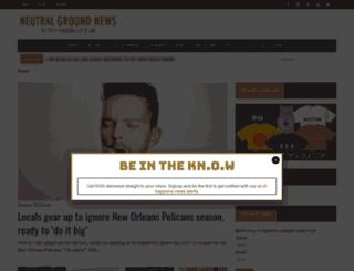 neutralgroundnews.com screenshot