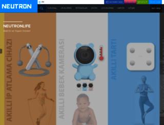 neutron.com.tr screenshot