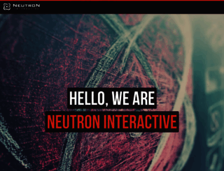 neutroninteractive.com screenshot