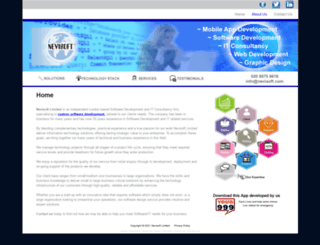 nevisoft.com screenshot