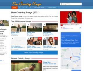 new-country-songs.com screenshot