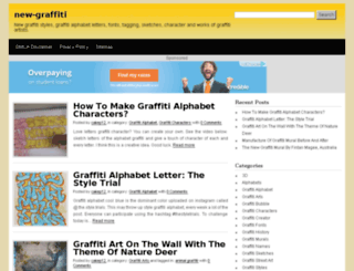 new-graffiti.com screenshot