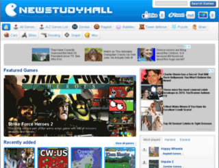 new-studyhall.com screenshot