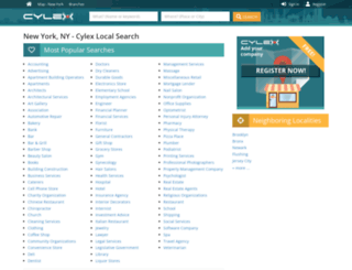 new-york.cylex-usa.com screenshot