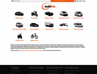 new.autolive.be screenshot