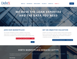 new.debtx.com screenshot
