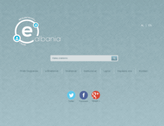 new.e-albania.al screenshot