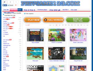 new.frivgame123.com screenshot