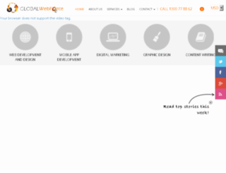 new.globalwebforce.com screenshot