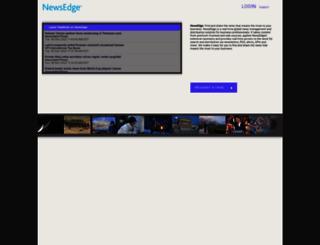 new.newsedge.com screenshot