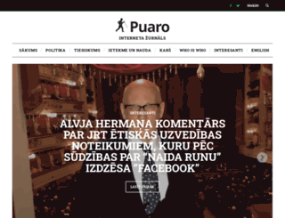 new.puaro.lv screenshot