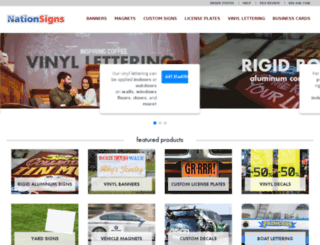 new.speedysigns.com screenshot