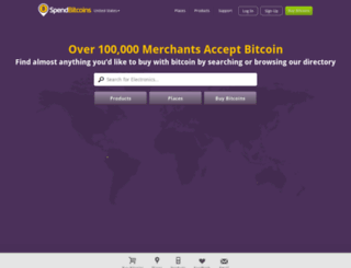new.spendbitcoins.com screenshot