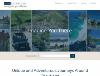 newadventures.com screenshot