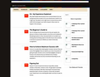 newagemasters.info screenshot