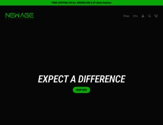 newageperformance.com screenshot
