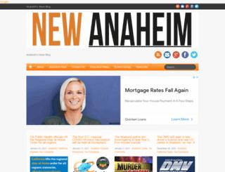 newanaheim.com screenshot