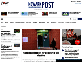 newarkpostonline.com screenshot