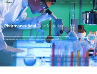 newawachemical.com screenshot