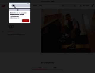 newbalance.com.tr screenshot