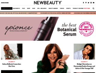 newbeauty.com screenshot
