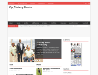 newberryobserver.com screenshot