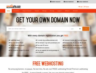 newbiesite.com screenshot