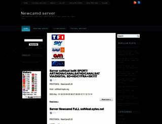 newcamdserver2012.blogspot.com screenshot