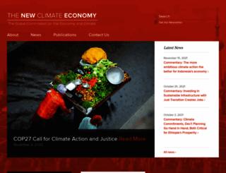 newclimateeconomy.net screenshot