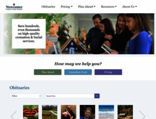 newcomerdayton.com screenshot
