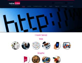 newcomweb.com screenshot