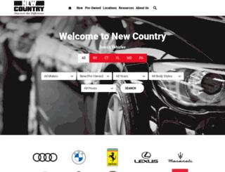 newcountry.com screenshot