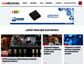 newelectronics.co.uk screenshot
