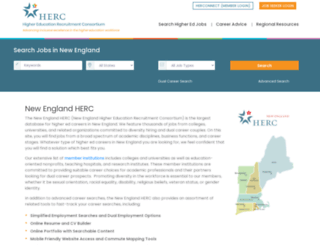 newenglandherc.org screenshot