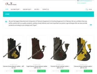 newfalconryequipments.com screenshot