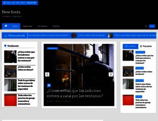 newfonts.net screenshot