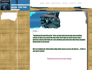 newfoundgroundrecords.com screenshot