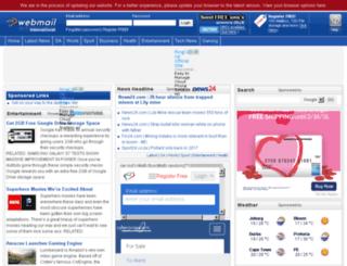 newfrontpage.webmail.co.za screenshot