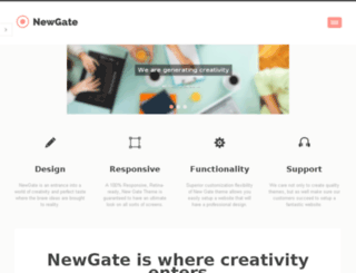 newgate.cmsmasters.net screenshot