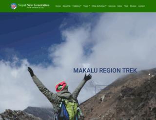 newgenerationtrek.com screenshot
