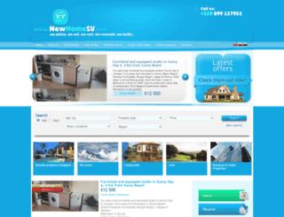 newhomesv.com screenshot