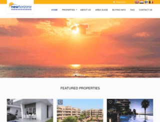 newhorizons-property.com screenshot
