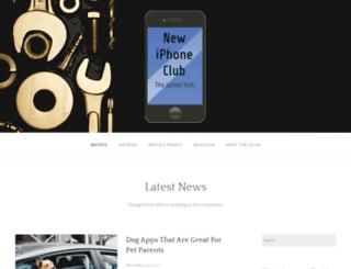 newiphoneclub.com screenshot
