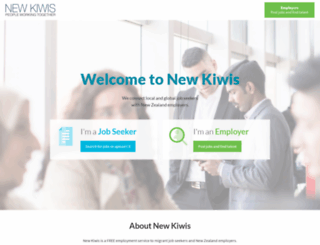 newkiwis.co.nz screenshot