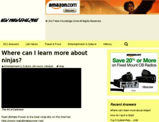 newknowledgezone.com screenshot