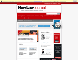 newlawjournal.co.uk screenshot