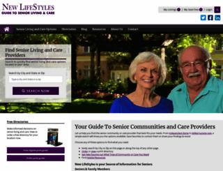 newlifestyles.com screenshot