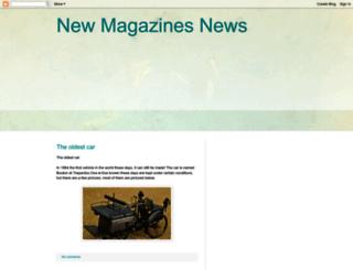 newmagazinesnews.blogspot.co.uk screenshot