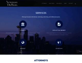 newmanlaw.com screenshot