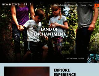 newmexico.org screenshot
